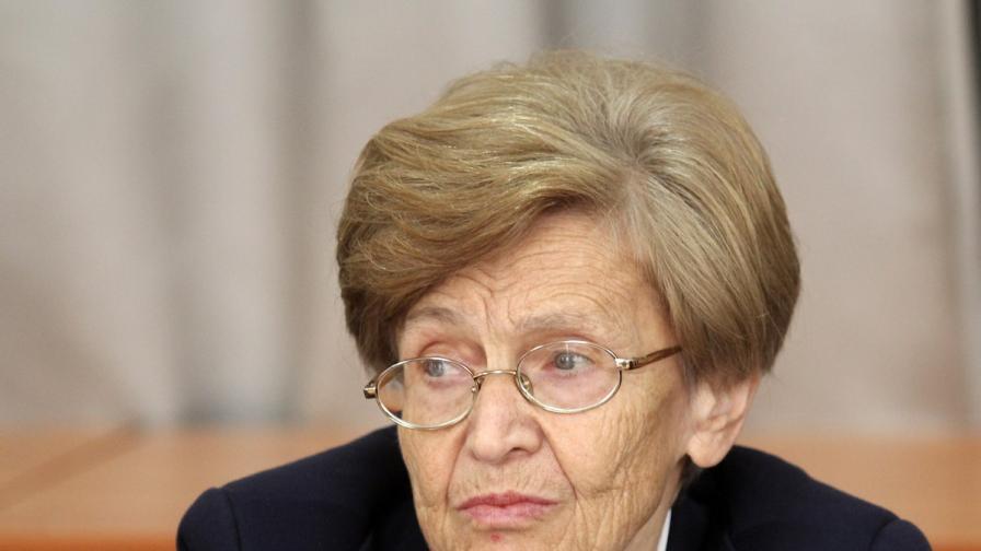 Почина проф. Христина Вучева