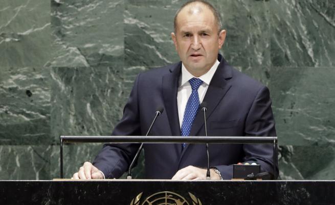 Какво каза Румен Радев пред ООН