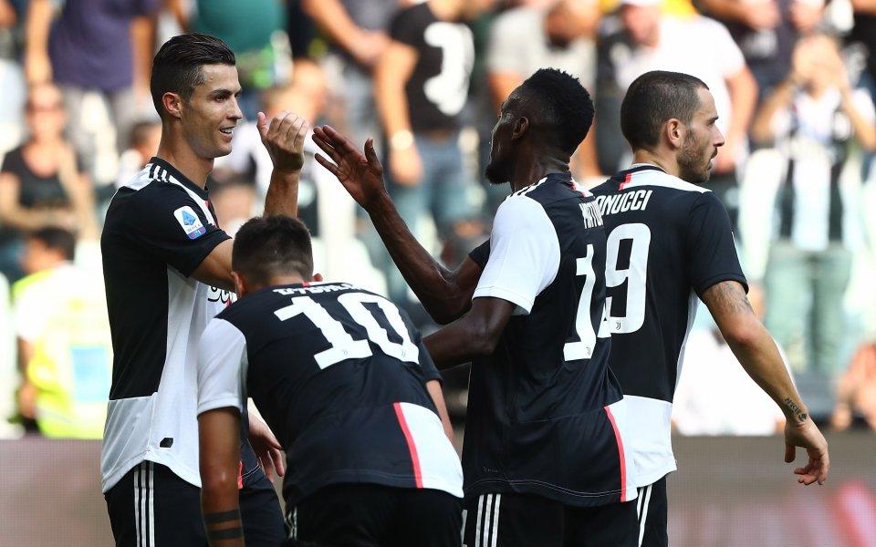 Отборът на Ювентус успя да се поздрави с победа над