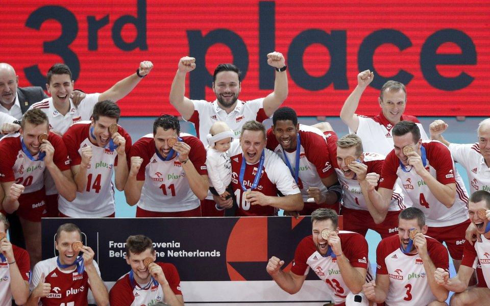 Полша грабна бронза на Евроволей 2019
