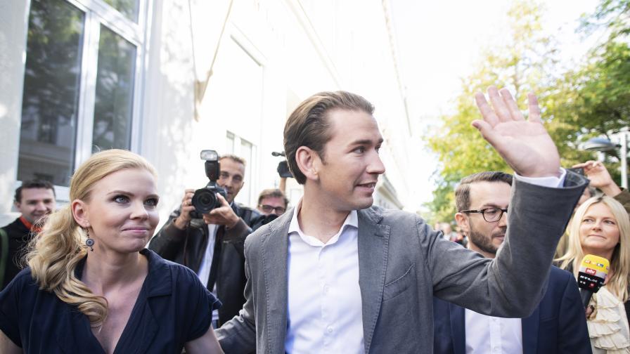 Победа за Консерваторите на Себастиан Курц в Австрия