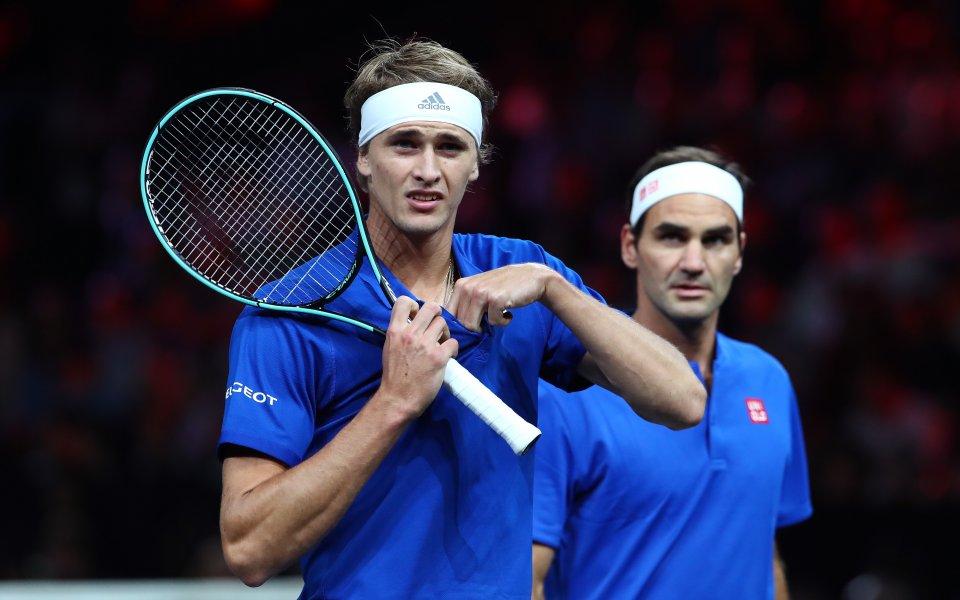 Федерер и Зверев се срещат в най-великия мач
