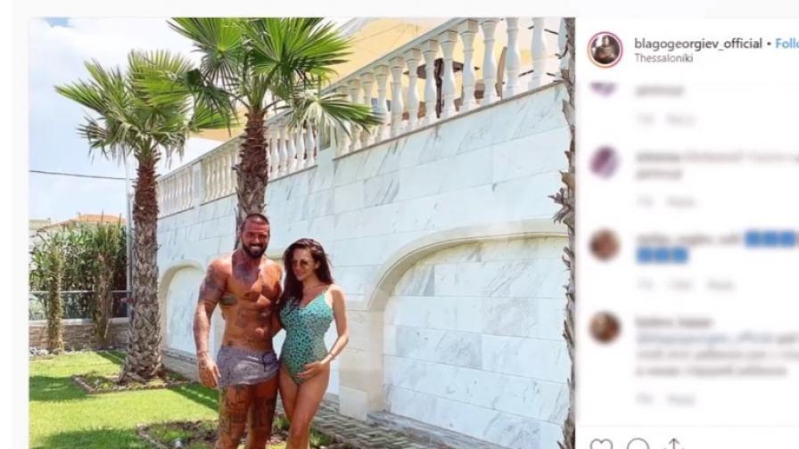 Златка Райкова и Благо Георгиев станаха родители