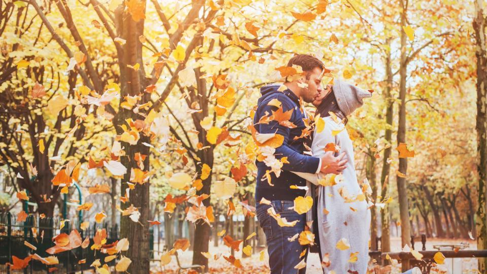 есен любов двойка връзка щастие