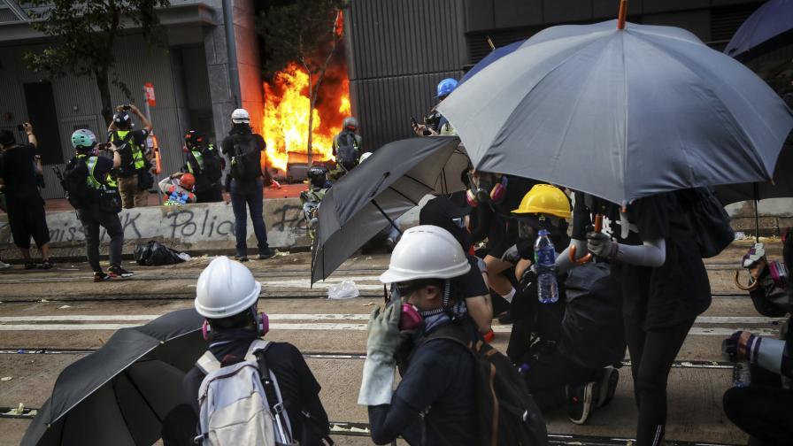 Протестите в Хонконг се пренесоха и във видеоигрите