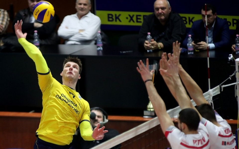 Носителят на Суперкупата на България по волейбол при мъжете ще