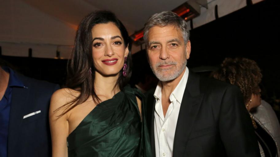 След 2 години затишие: Джордж Клуни показа сина си