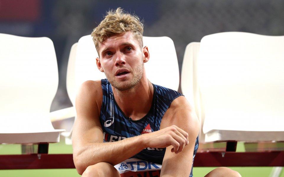 Световният рекордьор Кевин Майер от Франция се оттегли от десетобоя