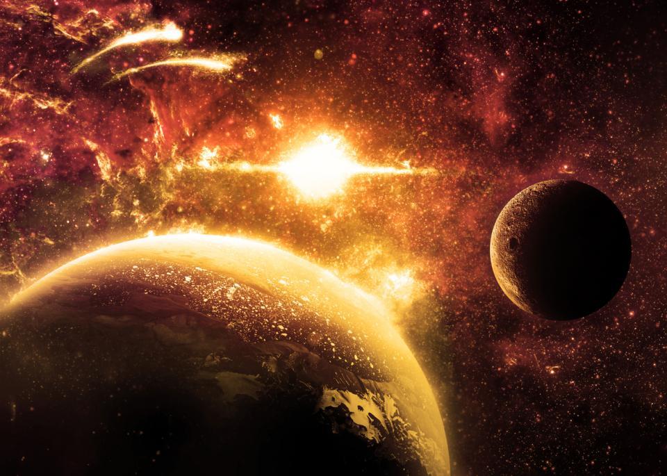 Планета космос меркурий