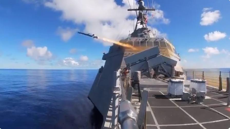 <p>Докато Китай показа военната си мощ, САЩ тестваха чудовище</p>