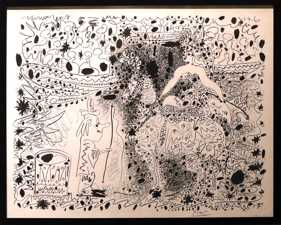 <p>Пабло Пикасо, Испания/Франция. Циркът, литография</p>