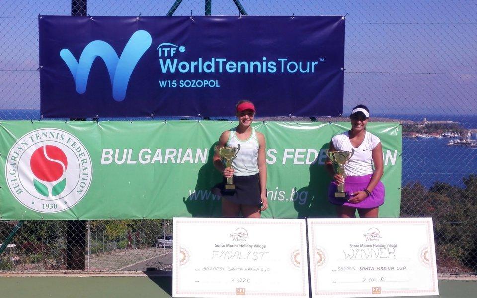 Петя Аршинкова с първа титла в кариерата си!