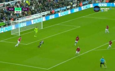 Нюкасъл - Манчестър Юнайтед 1:0 /репортаж/