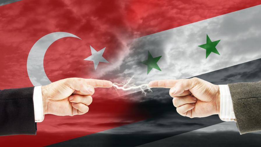 <p>В Сирия:огън между Турция и Асад, нова бежанска вълна</p>