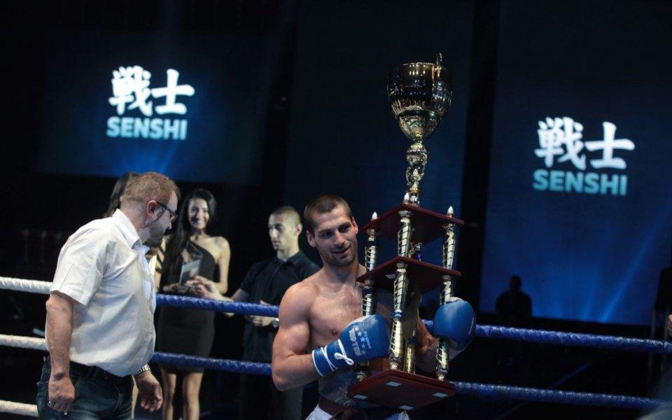 Петър Стойков излиза срещу двукратен световен шампион по кикбокс за професионалисти на SENSHI 4