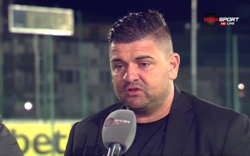 Спортният директор на Нефтохимик Бургас Недялко Москов коментира в предаването