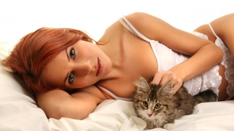 котка жена