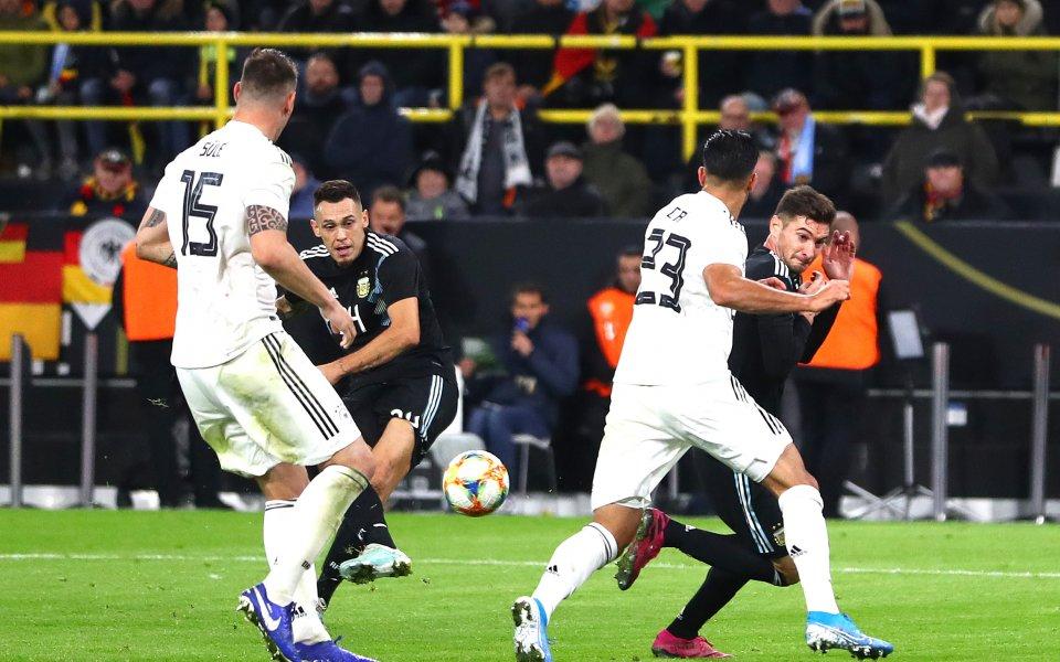 Германия иАржентина не разочароваха и изиграха един страхотен двубой с