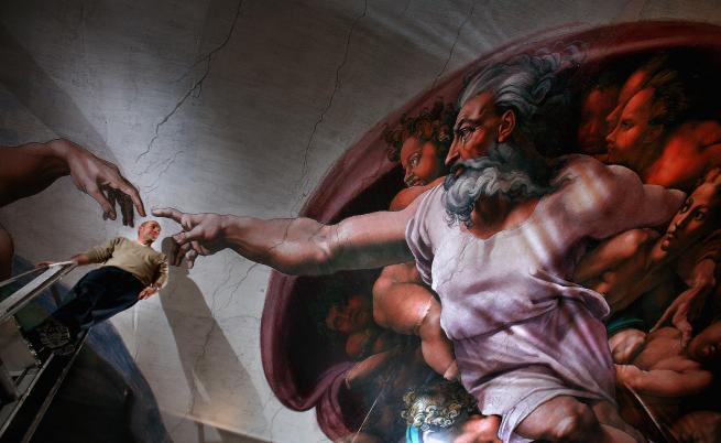 Фреска от Сикстинската капела
