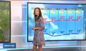 Прогноза за времето (10.10.2019 - обедна емисия)