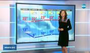 Прогноза за времето (11.10.2019 - обедна)