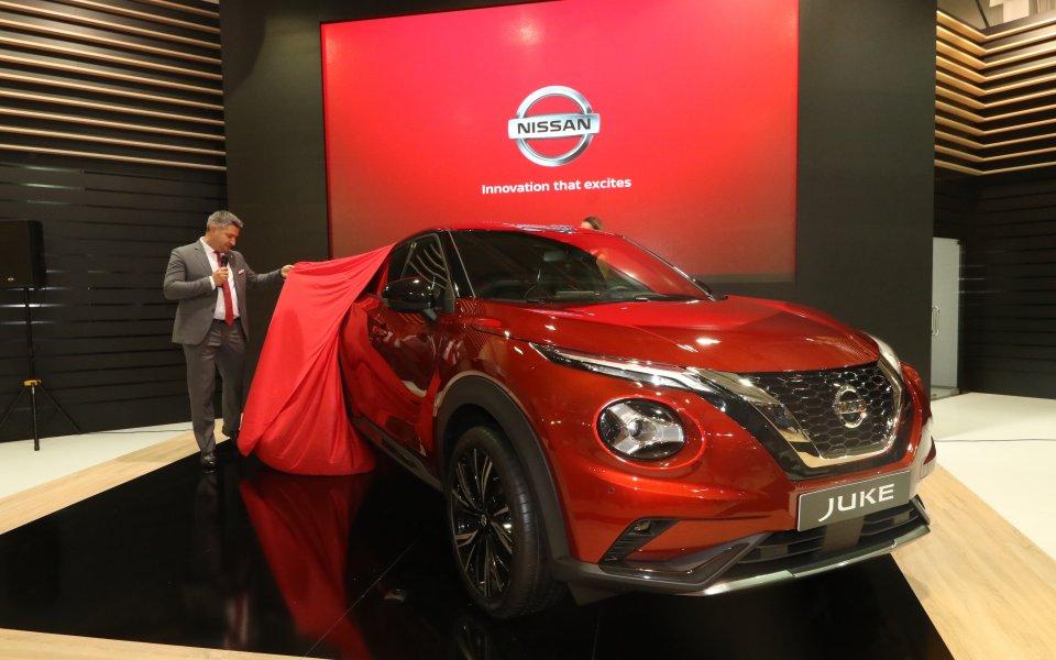 Nissan представи новия Juke на Автосалон София 2019. Най-голямото моторно