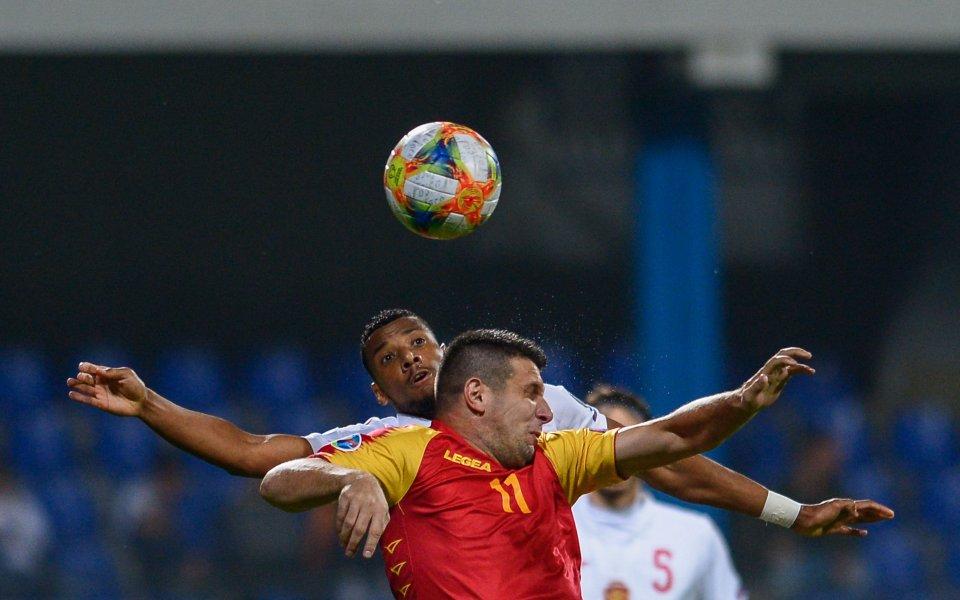 Георги Пашов, който направи официален дебют в националния отбор, изрази