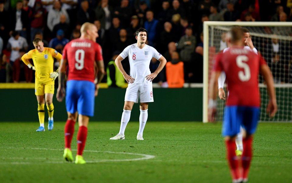 Чешкият нападател Зденек Ондрашек коментира победата над отбора на Англия