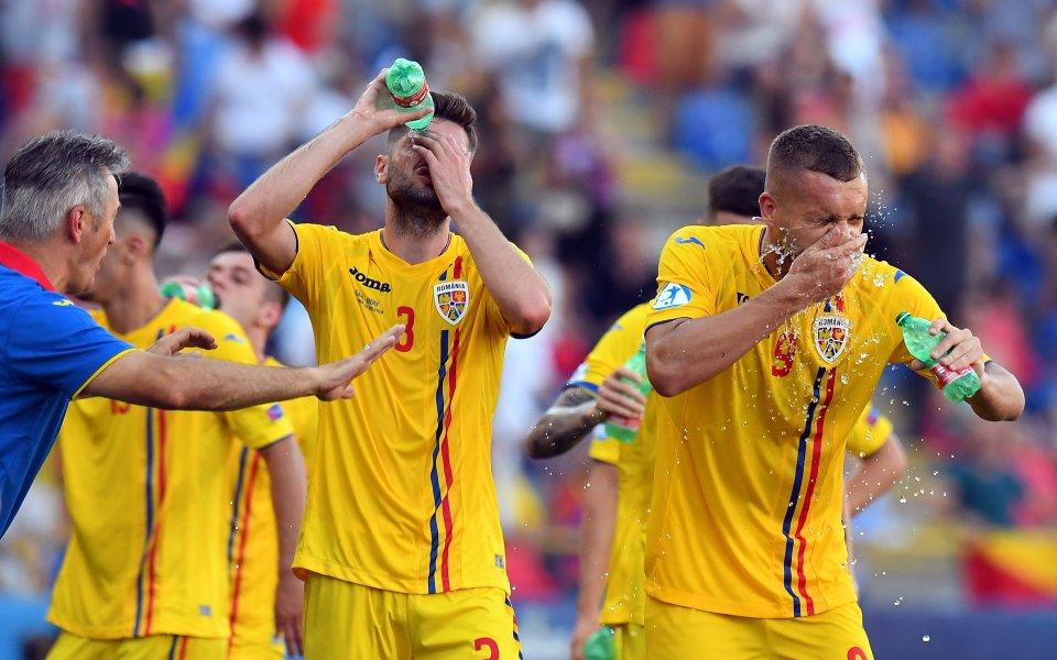 Румъния се спаси от голям срам, Кешеру помогна с гол