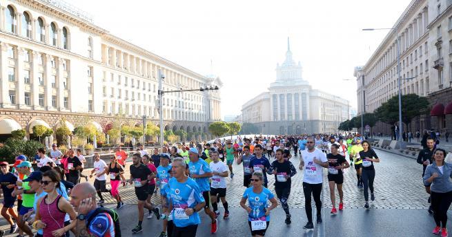 България Кениец спечели Софийския маратон тази година При жените пък