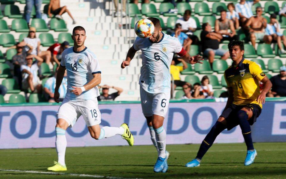 Аржентина победи Еквадор с шумното 6:1 в приятелска среща, а