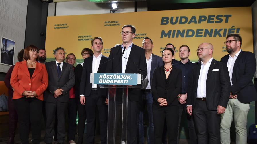 Тежък удар за Орбан - загуби Будапеща на местните избори в Унгария