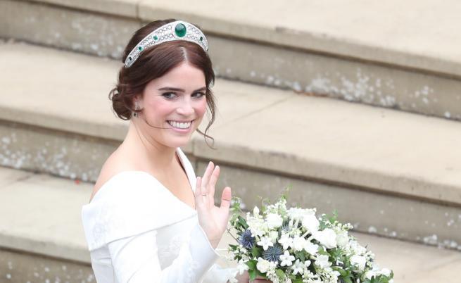 """Принцеса Юджини: """"Това беше най-великият ден в живота ми!"""""""