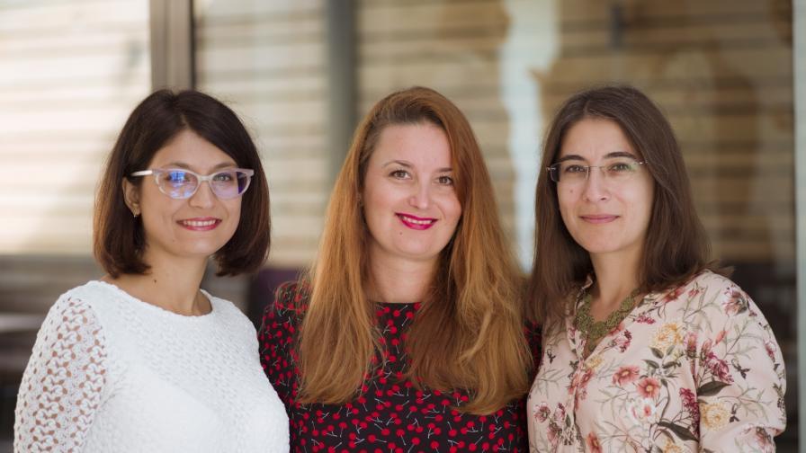 Катя, Ани, Мария