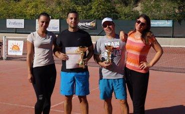 Станислав Иванов и Искра Бочева спечелиха Sandanski Open II