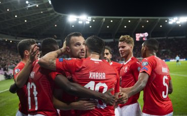 Швейцария завоюва ценни три точки и завърза група D