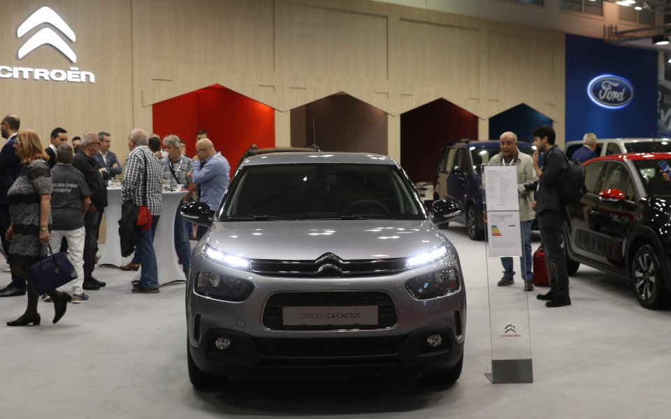 Доста вълнуващ е щандът на Citroën на Автомобилен Салон София