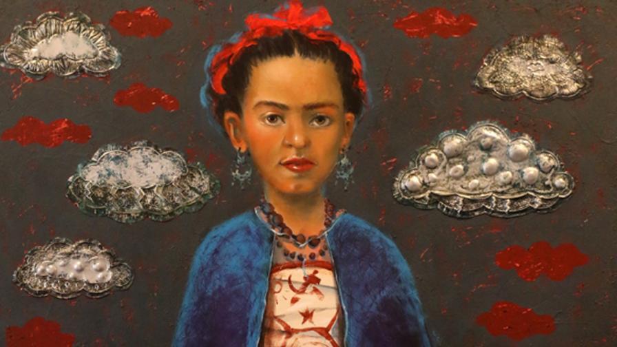 <p>Елисавета Ангелова и нейните <strong>удивителни картини</strong> (СНИМКИ)</p>