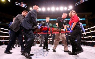 Боксьор почина след тежък нокаут