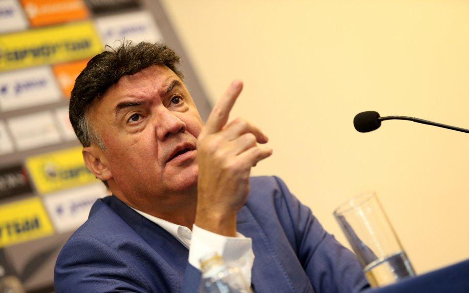 Борислав Михайлов направи кратък отчет за свършеното от него по
