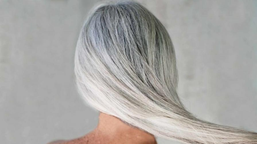 Френски учени откриха, как да върнем обратно цвета на побелялата коса