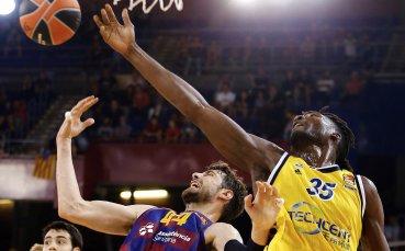 Барселона запази перфектен баланс в Евролигата