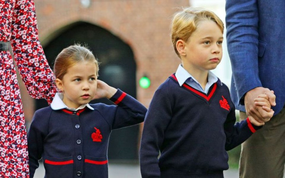 Лампард опитал да направи принц Джордж фен на Челси