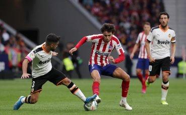 Атлетико и Валенсия поделиха точките в Мадрид