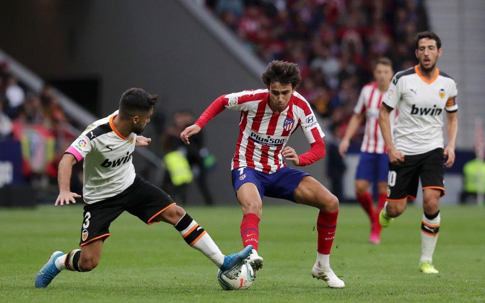 Тимовете на Атлетико Мадрид и Валенсия не успяха да се
