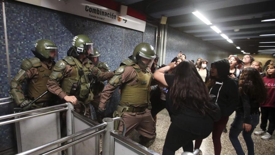 Цената на билетчето подпали най-стабилната държава в Латинска Америка
