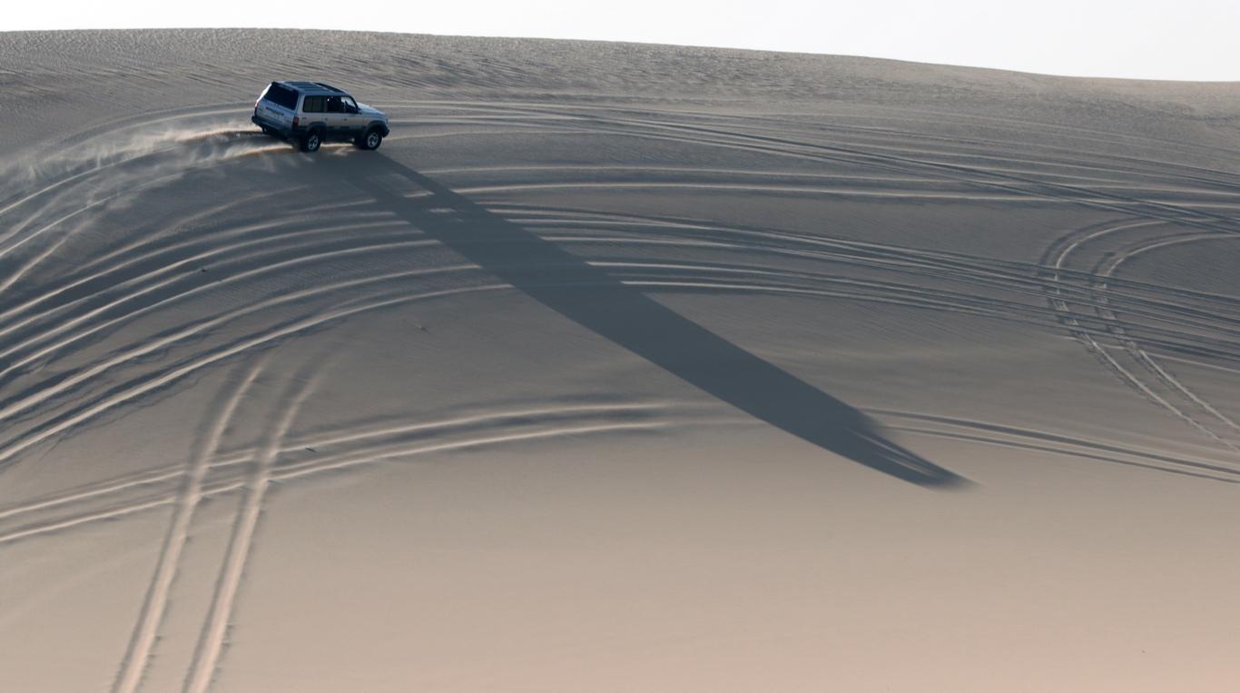 <p>Тя е разположена на запад от река Нил в Египет, като се простира до западните части на Либия</p>
