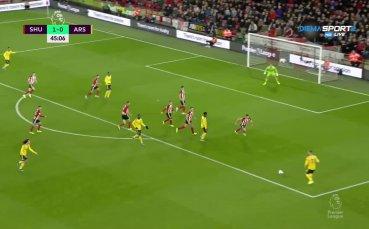 Шефилд Юнайтед - Арсенал 1:0 /първо полувреме/