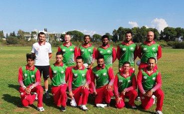 Исторически успех за българския крикет