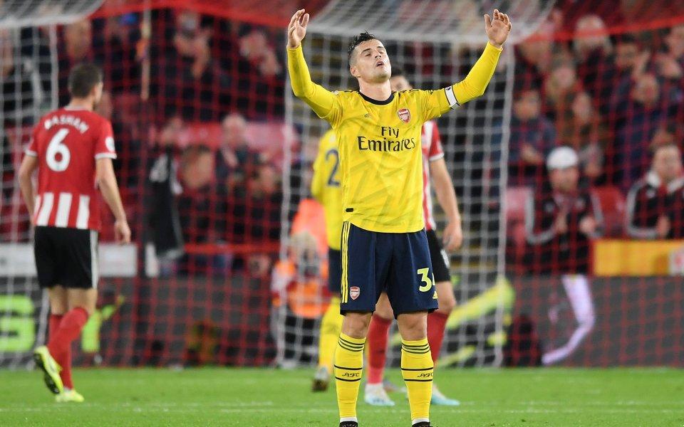 Гранит Джака побърза да защити Арсенал от критиките, които отправи